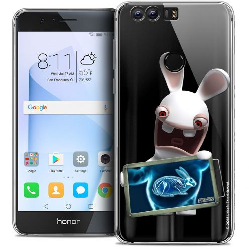 """Coque Gel Huawei Honor 8 (5.2"""") Extra Fine Lapins Crétins™ - X Ray Crétin"""