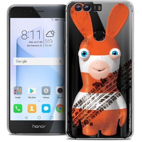 "Coque Gel Huawei Honor 8 (5.2"") Extra Fine Lapins Crétins™ - On the Road"