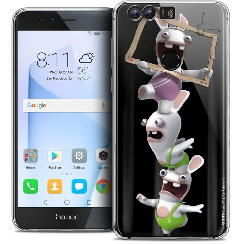 """Coque Gel Huawei Honor 8 (5.2"""") Extra Fine Lapins Crétins™ - TV Sport"""