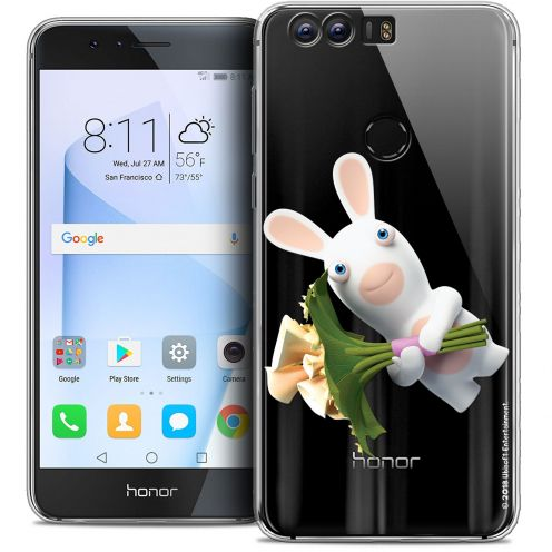 """Coque Gel Huawei Honor 8 (5.2"""") Extra Fine Lapins Crétins™ - Bouquet Crétin"""