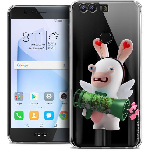 """Coque Gel Huawei Honor 8 (5.2"""") Extra Fine Lapins Crétins™ - Cupidon Soldat"""