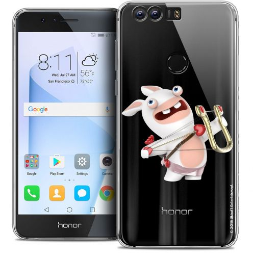 """Coque Gel Huawei Honor 8 (5.2"""") Extra Fine Lapins Crétins™ - Cupidon Crétin"""