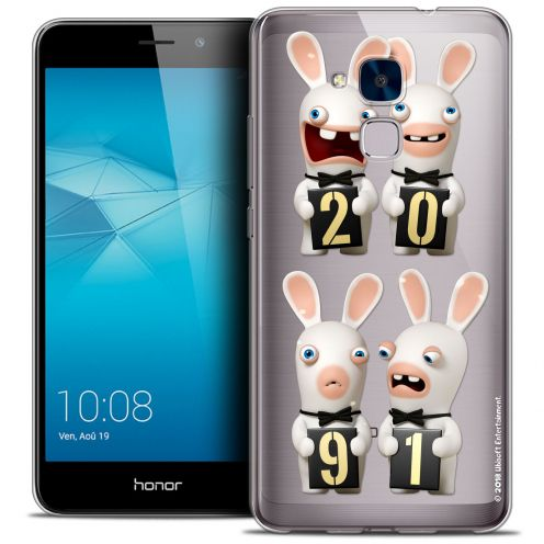Coque Gel Huawei Honor 5C Extra Fine Lapins Crétins™ - New Year