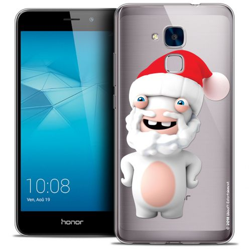 Coque Gel Huawei Honor 5C Extra Fine Lapins Crétins™ - Lapin Noël