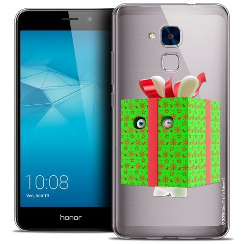 Coque Gel Huawei Honor 5C Extra Fine Lapins Crétins™ - Lapin Surprise Vert