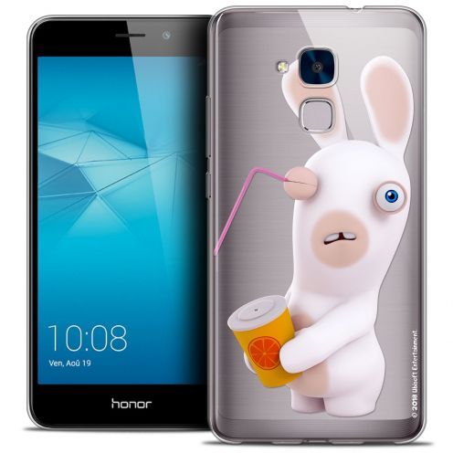 Coque Gel Huawei Honor 5C Extra Fine Lapins Crétins™ - Soda Crétin