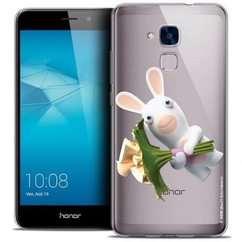 Coque Gel Huawei Honor 5C Extra Fine Lapins Crétins™ - Bouquet Crétin