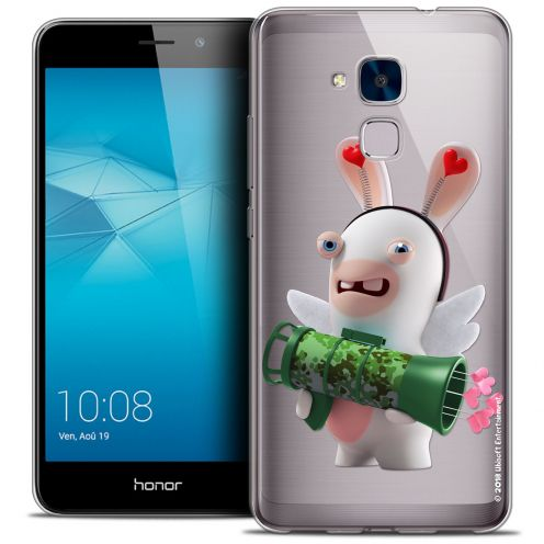 Coque Gel Huawei Honor 5C Extra Fine Lapins Crétins™ - Cupidon Soldat