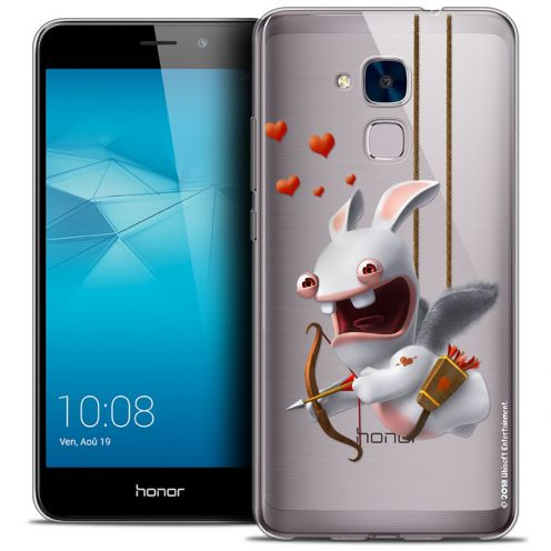 Coque Gel Huawei Honor 5C Extra Fine Lapins Crétins™ - Flying Cupidon