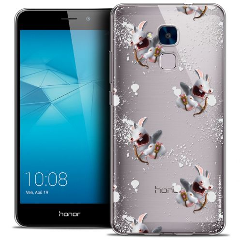 Coque Gel Huawei Honor 5C Extra Fine Lapins Crétins™ - Cupidon Pattern