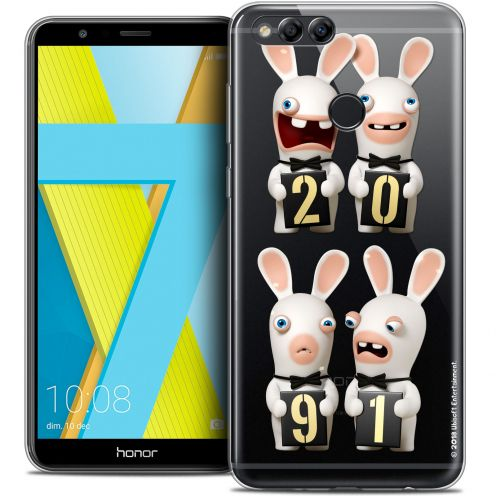 "Coque Gel Honor 7X (5.9"") Extra Fine Lapins Crétins™ - New Year"
