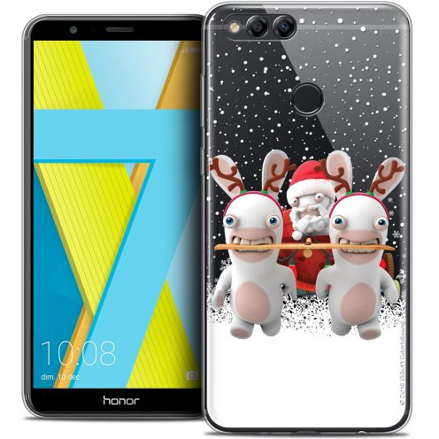 """Coque Gel Honor 7X (5.9"""") Extra Fine Lapins Crétins™ - Lapin Traineau"""
