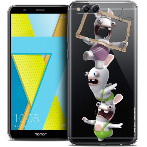 """Coque Gel Honor 7X (5.9"""") Extra Fine Lapins Crétins™ - TV Sport"""