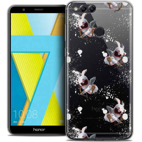 """Coque Gel Honor 7X (5.9"""") Extra Fine Lapins Crétins™ - Cupidon Pattern"""