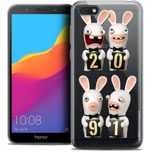 "Coque Gel Honor 7S (5.45"") Extra Fine Lapins Crétins™ - New Year"
