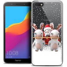 """Coque Gel Honor 7S (5.45"""") Extra Fine Lapins Crétins™ - Lapin Traineau"""