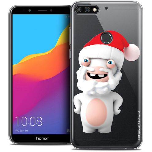 """Coque Gel Honor 7C (5.99"""") Extra Fine Lapins Crétins™ - Lapin Noël"""