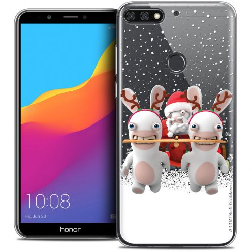 """Coque Gel Honor 7C (5.99"""") Extra Fine Lapins Crétins™ - Lapin Traineau"""