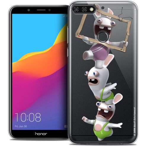 """Coque Gel Honor 7C (5.99"""") Extra Fine Lapins Crétins™ - TV Sport"""