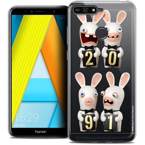 "Coque Gel Honor 7A (5.7"") Extra Fine Lapins Crétins™ - New Year"