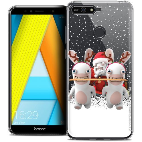 "Coque Gel Honor 7A (5.7"") Extra Fine Lapins Crétins™ - Lapin Traineau"
