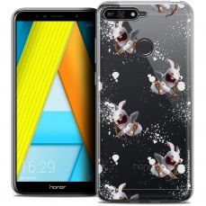 "Coque Gel Honor 7A (5.7"") Extra Fine Lapins Crétins™ - Cupidon Pattern"