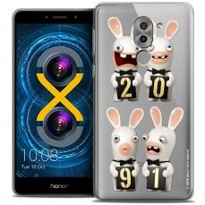 Coque Gel Huawei Honor 6X Extra Fine Lapins Crétins™ - New Year