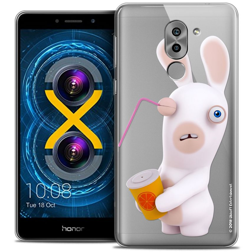 Coque Gel Huawei Honor 6X Extra Fine Lapins Crétins™ - Soda Crétin