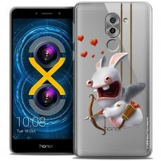 Coque Gel Huawei Honor 6X Extra Fine Lapins Crétins™ - Flying Cupidon