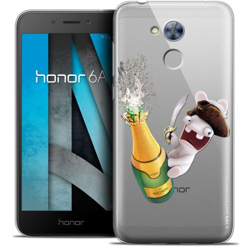 """Coque Gel Huawei Honor 6A (5"""") Extra Fine Lapins Crétins™ - Champagne !"""