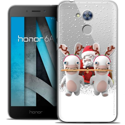 """Coque Gel Huawei Honor 6A (5"""") Extra Fine Lapins Crétins™ - Lapin Traineau"""