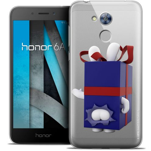 """Coque Gel Huawei Honor 6A (5"""") Extra Fine Lapins Crétins™ - Lapin Surprise Bleu"""