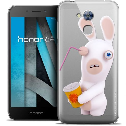 """Coque Gel Huawei Honor 6A (5"""") Extra Fine Lapins Crétins™ - Soda Crétin"""