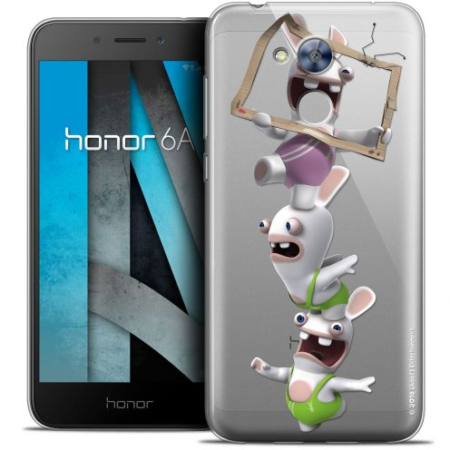 """Coque Gel Huawei Honor 6A (5"""") Extra Fine Lapins Crétins™ - TV Sport"""