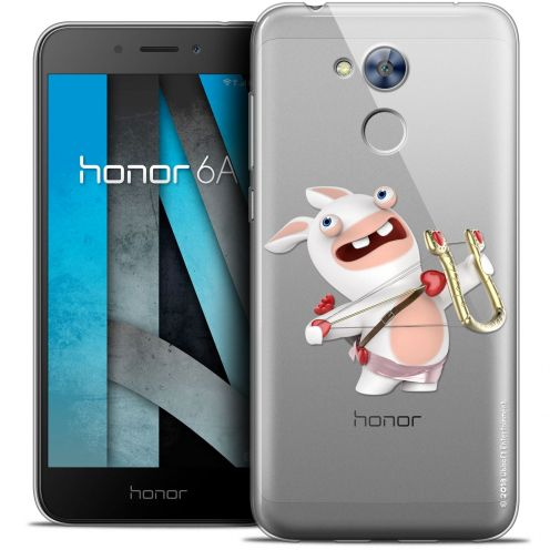 """Coque Gel Huawei Honor 6A (5"""") Extra Fine Lapins Crétins™ - Cupidon Crétin"""