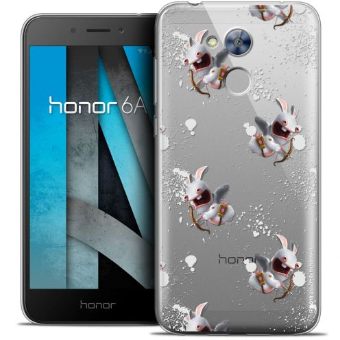 """Coque Gel Huawei Honor 6A (5"""") Extra Fine Lapins Crétins™ - Cupidon Pattern"""