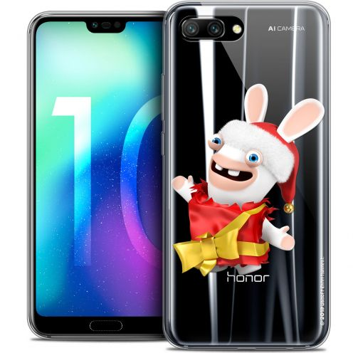"Coque Gel Huawei Honor 10 (5.8"") Extra Fine Lapins Crétins™ - Cadeau Crétin"
