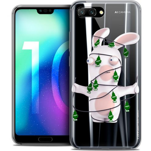 "Coque Gel Huawei Honor 10 (5.8"") Extra Fine Lapins Crétins™ - Arbre Crétin"