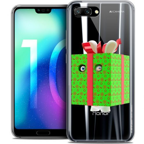 "Coque Gel Huawei Honor 10 (5.8"") Extra Fine Lapins Crétins™ - Lapin Surprise Vert"