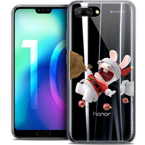 "Coque Gel Huawei Honor 10 (5.8"") Extra Fine Lapins Crétins™ - Père Lapin Crétin"