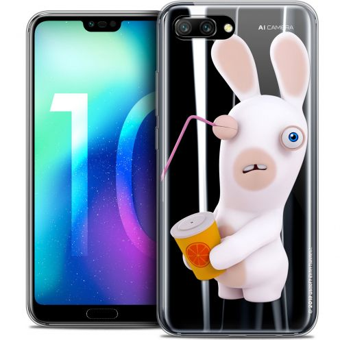 "Coque Gel Huawei Honor 10 (5.8"") Extra Fine Lapins Crétins™ - Soda Crétin"
