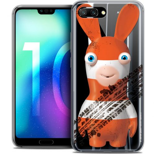 "Coque Gel Huawei Honor 10 (5.8"") Extra Fine Lapins Crétins™ - On the Road"