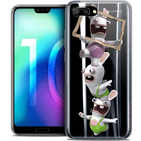 "Coque Gel Huawei Honor 10 (5.8"") Extra Fine Lapins Crétins™ - TV Sport"