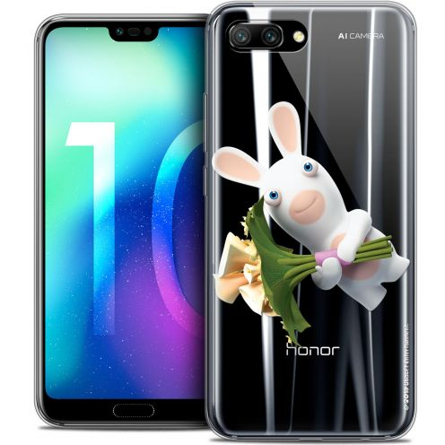 "Coque Gel Huawei Honor 10 (5.8"") Extra Fine Lapins Crétins™ - Bouquet Crétin"
