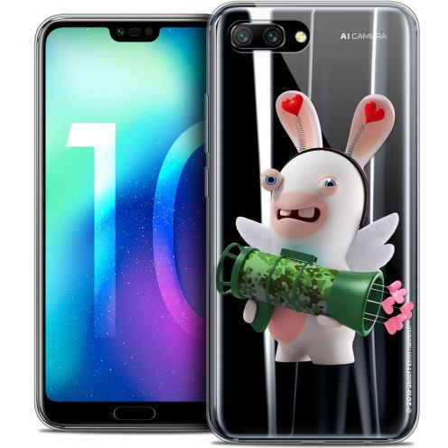 "Coque Gel Huawei Honor 10 (5.8"") Extra Fine Lapins Crétins™ - Cupidon Soldat"