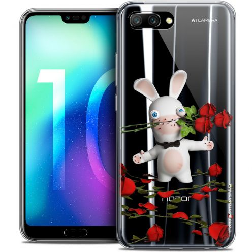 "Coque Gel Huawei Honor 10 (5.8"") Extra Fine Lapins Crétins™ - Gentleman Crétin"