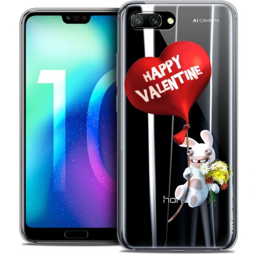 "Coque Gel Huawei Honor 10 (5.8"") Extra Fine Lapins Crétins™ - Valentin Crétin"