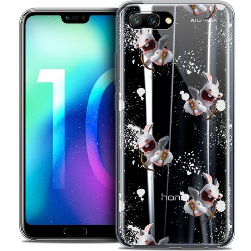 "Coque Gel Huawei Honor 10 (5.8"") Extra Fine Lapins Crétins™ - Cupidon Pattern"