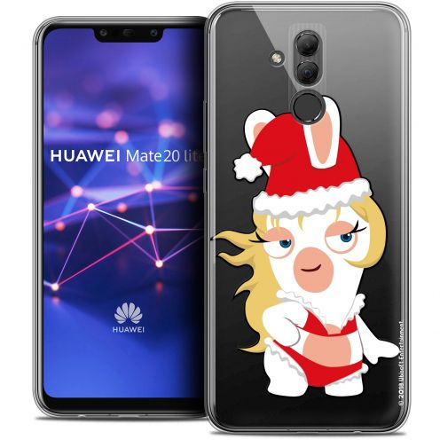 "Coque Gel Huawei Mate 20 Lite (6.3"") Extra Fine Lapins Crétins™ - Lapin Danseuse"