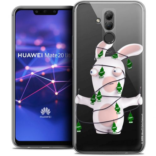 "Coque Gel Huawei Mate 20 Lite (6.3"") Extra Fine Lapins Crétins™ - Arbre Crétin"